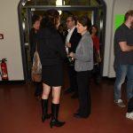 Sektempfang nach der Ausstellungseröffnung